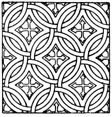 Free Mosaic Coloring Pages Printables - Coloring Home