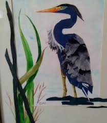 Blue Heron, ida Bradley – ART CENTER OF CITRUS COUNTY