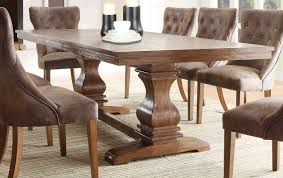 8 ft dining table design ideas for artistic luxury rustic round dining table for 8 ft