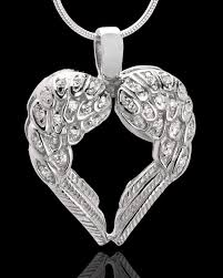 winged memories heart cremation urn pendant 89 99 new jewelry jewelry pendants cremation jewelry