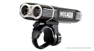 Authentic <b>WOSAWE</b> BCD-007 <b>LED Bicycle Headlight</b>