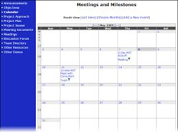 Online Project Management Calendar Online Calendar Event Management Project Management Solution