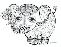Coloring Pages Elephants Cool Design Coloring Pages Elephants