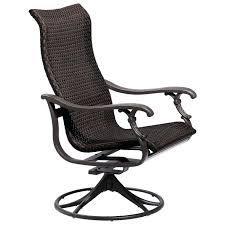 idea sling swivel rocker patio chairs or woven swivel rocker 19 sling aluminum swivel rocker patio