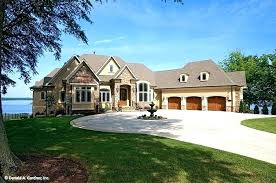 lake house plans simple with walkout basement small lot waterfront lake house plans simple with walkout basement small lot waterfront