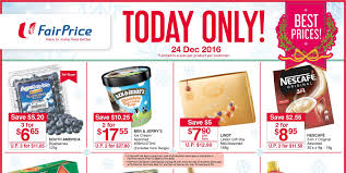ntuc fair singapore specials one day only promotion 24 dec 2016 why not deals