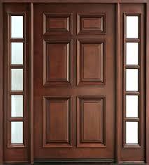 external doors glass panel for front double with wooden wood garage door replacement panels