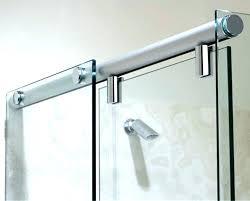 showers glass shower door seal refreshing bottom sliding designs sealan