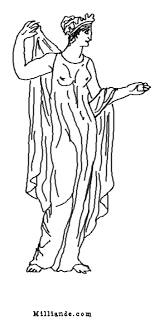 Small Picture Greek Muses Coloring Book H OP OFF 9 Muses of Greek Mythology
