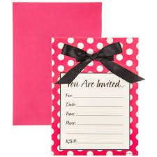 Polka Dot Invitations Pink White Polka Dot Invitations Hobby Lobby 314104