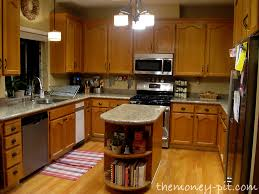 Restain Oak Kitchen Cabinets Classy My New Kitchen Island Staining Oak Cabinets The Kim Six Fix