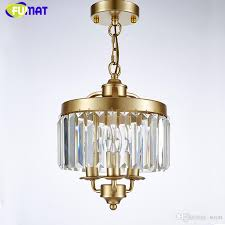 fumat loft re chandelier new art deco crystal chandelier indoor lighting black gold vintage lamp for dinning room chandelier glass light pendant pendant