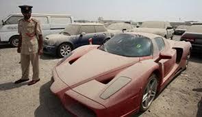 2020 ferrari enzo. supercar: ferrari enzo seen covered in dust abandoned dubai. the is to 2020