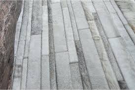 patchwork cowhide rugs patchwork cowhide rug in classic white and gray stripes shine rugs patchwork cowhide patchwork cowhide rugs
