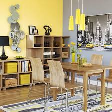 17 Bright and Pretty Yellow Dining Room Designs. Yellow AccentsYellow  Accent WallsLight ...