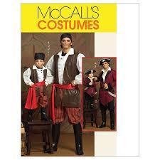 Pirate Costume Pattern Mesmerizing Amazon McCall's Patterns M48 Men's Children's Boys' Pirate