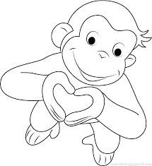 Free Curious George Coloring Pages Curious Coloring Page Curious