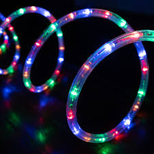 Meil Led Lights West Ivory 3 8 50 Feet Mixed Colors Led Rope Lights 2 Wire Accent Holiday Christmas Party Decoration Extendable Lighting 10 25 60 150 Ft