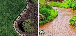 barrier paver landscape edging