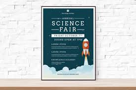 Flyer Samples For An Event Enchanting DIY Printable School Science Fair Flyer Template Word Flyer Etsy