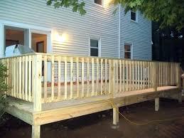 installing deck railing posts deck installing deck railing posts corners