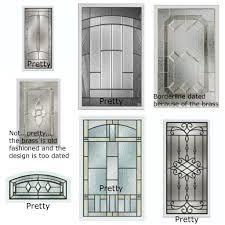 Entry Door Glass Inserts Replacement Doors Garage Ideas