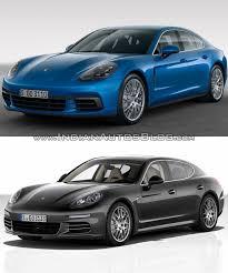 2017 Porsche Panamera vs. 2014 Porsche Panamera - In Images