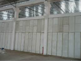 image of concrete wall panels for park area