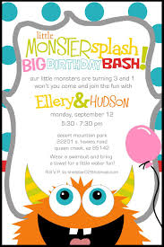 Lil Monster Birthday Invitations Pin By Cindy Wilhite On Birthday Party Monster Birthday Parties