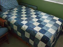 reuse old jeans with a jean quilt | quilts | Pinterest | Reuse ... & reuse old jeans with a jean quilt Adamdwight.com