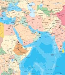 asia maps of countries atlas Map Of Asia Atlas southwest asia map map of asia to label