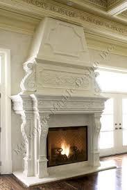 Limestone Fireplace Mantels  Cast Stone Surrounds  Artisan KraftLimestone Fireplace Mantels