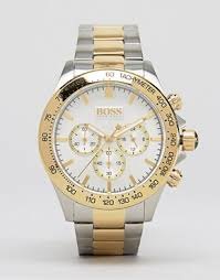 men s watches digital designer watches asos boss by hugo boss 1512960 gold detail chronograph stainless steel watch