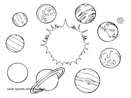 Solar System Coloring Pages Kindergarten Alellajoveinfo
