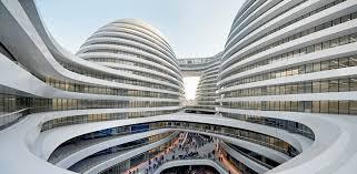 Galaxy Soho Building Beijing #Hadid #Zaha Pinned by www.modlar.com