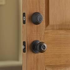 front door knob lock. Door Handles, Front Deadbolt Schlage Locks Double Bronze Lock Knob With Keyed A