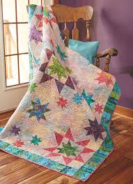 Sprinkling of Stars Quilt   Quilt patterns, Piano keys and Star quilts & Make stars in three different sizes for this throw quilt pattern designed  by Liz Porter. Adamdwight.com