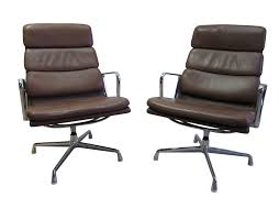 eames soft pad lounge chair. Ea216 Softpad Lounge Chairs By Eames For Herman Miller Vitra Soft Pad Chair
