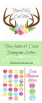 See more ideas about svg, free svg, cricut crafts. Free Deer Floral Antler Svg Freebie Friday Abbi Kirsten Collections