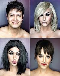 male makeup artist can transform into kylie jenner and kim k with the stroke of a