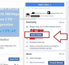 how to invite all facebook friends at
