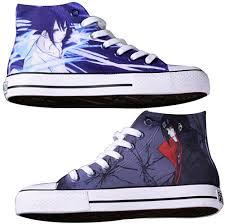 Telacos Naruto Uchiha Sasuke Uchiha Itachi Cosplay Shoes Canvas Shoes  Sneakers Blue Size: Male US Size 3.5: Amazon.co.uk: Shoes & Bags