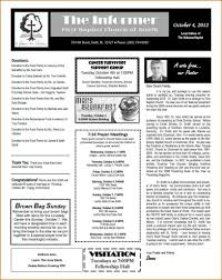 Church Newsletter Templates Free Publisher Youth Ministry
