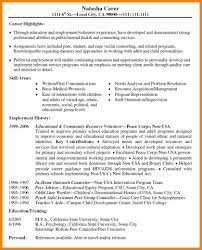 Volunteer Experience Resume 24 Resume Volunteer Experience Applicationleter Aceeducation 10