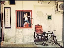 penang street art on famous wall art in penang with explore penang old town malaysia tourist