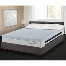 queen mattress bed. Springwall Chiropractic Illusions 27.9 Cm (11 In.) Luxury Queen Mattress Bed