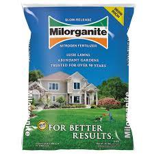milorganite 36 lb slow release nitrogen fertilizer
