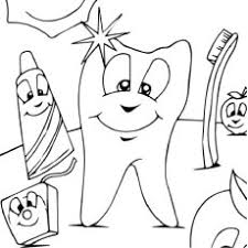 Small Picture Dental Coloring Pages For Interest Tooth Coloring Pages Printable