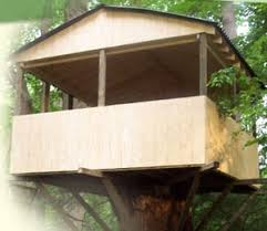 Designing Simple Basic Tree Houses Simple Kids Tree Houses