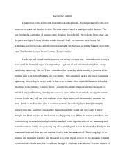 speaker evaluation on physical activity essay peyton reed hper  6 pages memoir